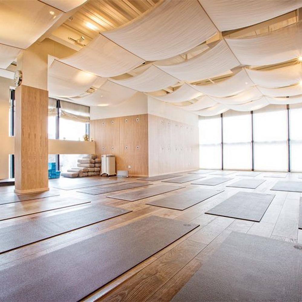 大自然风书屋瑜伽馆室内装修效果图