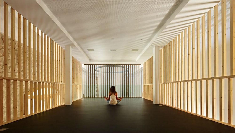 东南亚泰国风瑜伽馆室内装修效果图