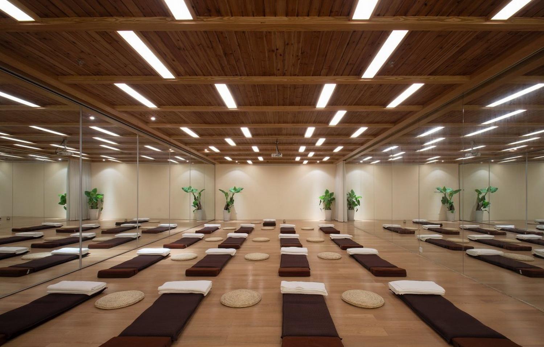室内瑜伽馆室内装修效果图