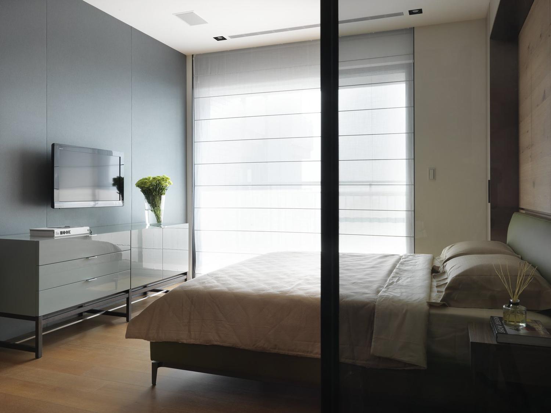 150平米三房现代风格装修效果图