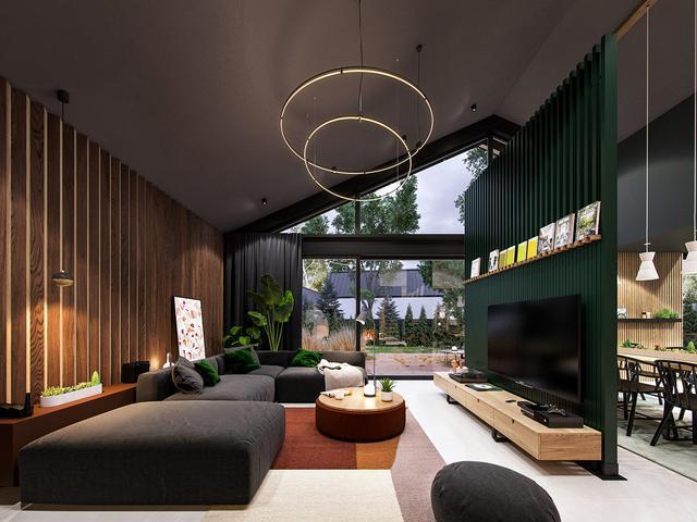 超美星际宇宙主题的装修风格时尚家居空间