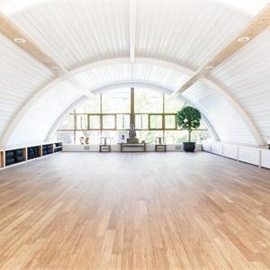 簡約印式瑜伽館室內裝修效果圖