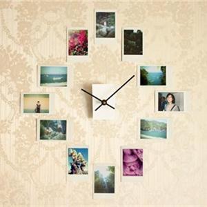 无框照片墙创意 17种方法拼贴出最美墙面