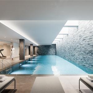 豪华别墅游泳健身房
