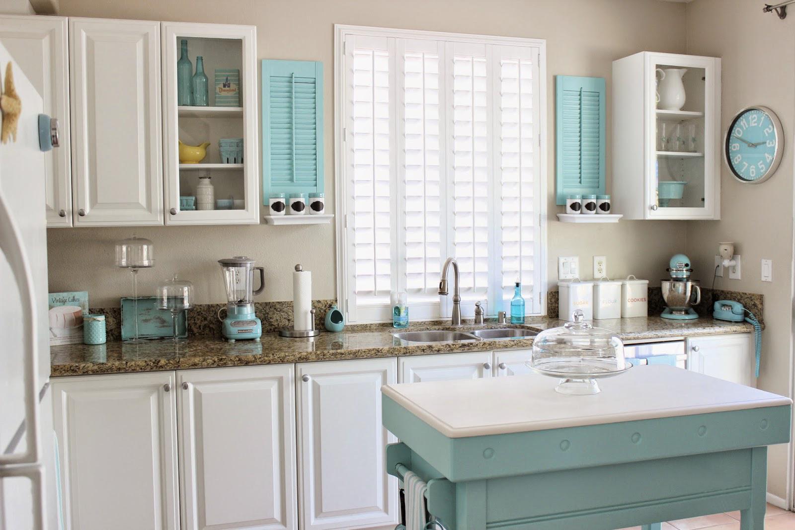 色彩斑斓,新美式风格设计,橱柜厨房