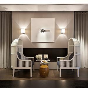 个性化鸟笼造型的沙发椅