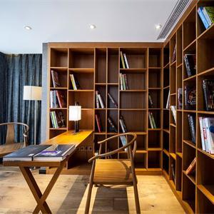 中式实木书房
