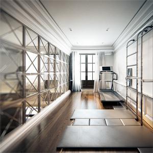 健身房间装修和设计