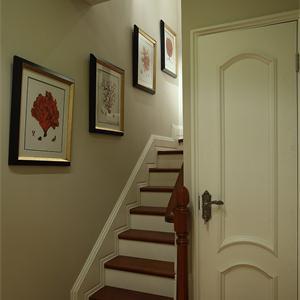东南亚风格过道楼梯装修效果图