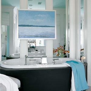 奢华雅致的卫生间,张扬个性的新古典风