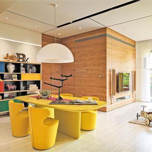 色彩炫麗多彩客廳