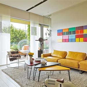 搭配彩色家具多姿多彩