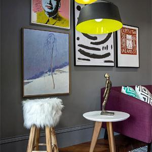 客廳空間和家居的搭配