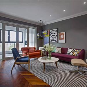 客廳布藝沙發的顏色搭配