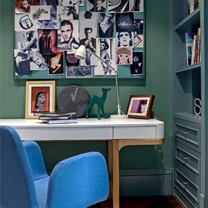 兒童房間書房顏色