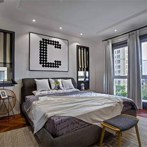 臥室的搭配很有心意感的設計