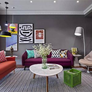 輕裝修重裝飾的客廳