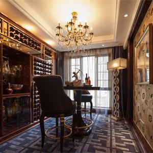 欧式风格的建筑类型,品酒房间