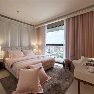 公主粉色臥室裝修圖