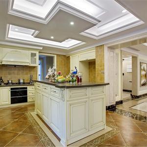 歐式風豪華型裝修廚房設計