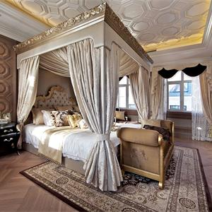 160㎡歐式風格臥室裝修效果圖