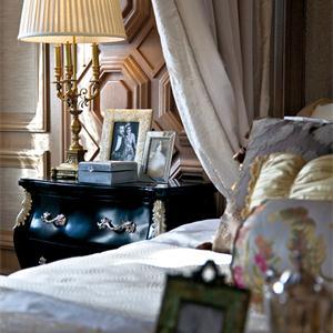 豪華歐式風格別墅臥室裝修效果圖