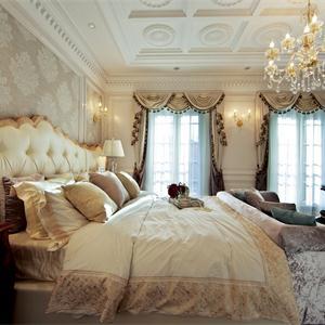 奢華歐式風格三居臥室裝修效果圖