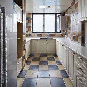 美式風格三居廚房裝修效果圖
