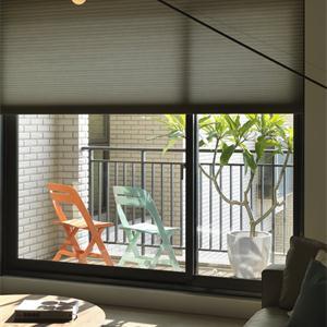 日式风格二居室阳台装修设计效果图