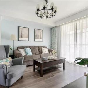 苏州星奕名筑100㎡小清新欧式风装修设计 营造出雅致大方的家居视觉感