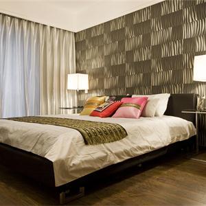 152㎡中式风格卧室装修效果图