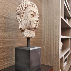 中式风格三居室书房摆件