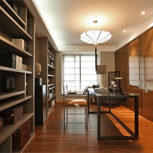 142㎡中式风格书房装修效果图