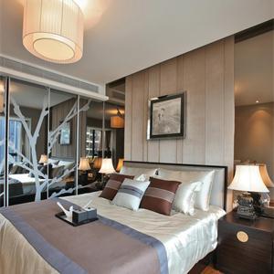 传统中国元素中式风格卧室装修效果图