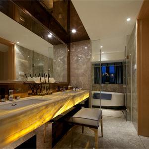 142㎡中式风格卫生间装修效果图