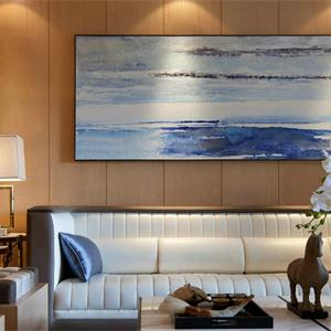 现代简约风格两居室客厅装修设计图