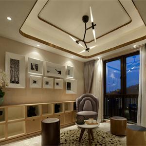 简约风格三居客厅装修效果图