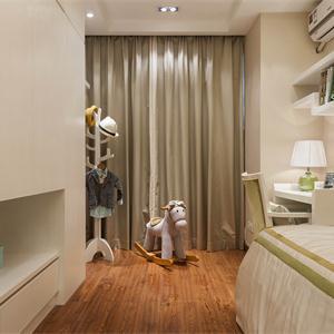 三居室简约风格儿童房装修效果图