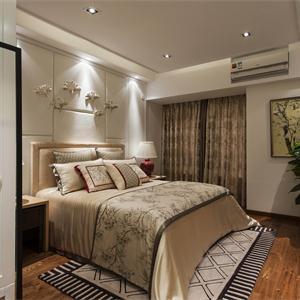 120平米中式卧室装修效果图