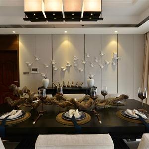 古典中式风格三居餐厅装修效果图