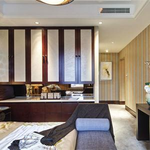 簡約中式風格三居客廳裝修效果圖