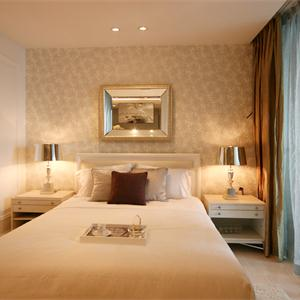 現代歐式風格臥室裝修效果圖