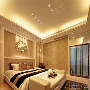 歐式風格三居臥室裝修效果圖