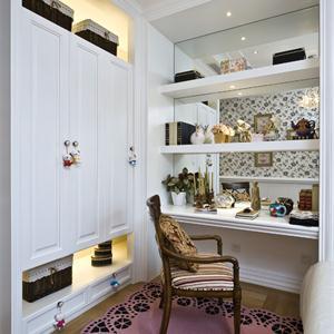 150㎡三居法式风格卧室装修效果图