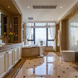 法式新古典客厅卫生间装修效果图