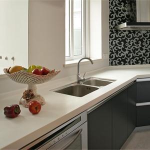 簡潔美式風格廚房櫥柜設計