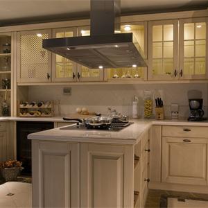 新古典風格大戶型開放式廚房裝修效果圖