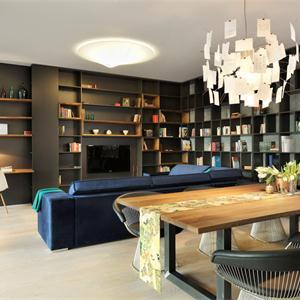 現代簡約三居書房裝修效果圖