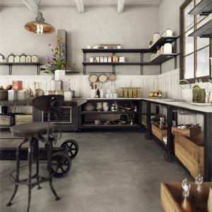 新古典風格三居廚房裝修效果圖