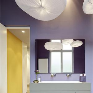 現代簡約二居室衛生間裝修效果圖
